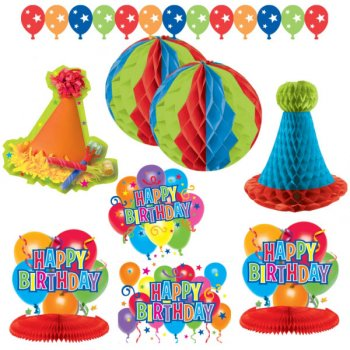 Kit de Décorations Happy Birthday