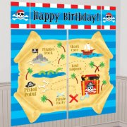 5 D�cors G�ants Pirate Party