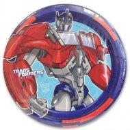 8 Assiettes Transformers