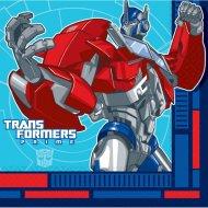 16 Serviettes Transformers