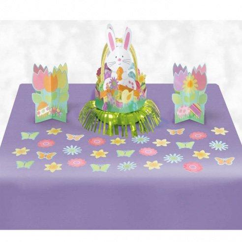 Kit Déco de Table Lapin de Pâques