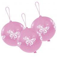 3 Ballons Punchball Papillon