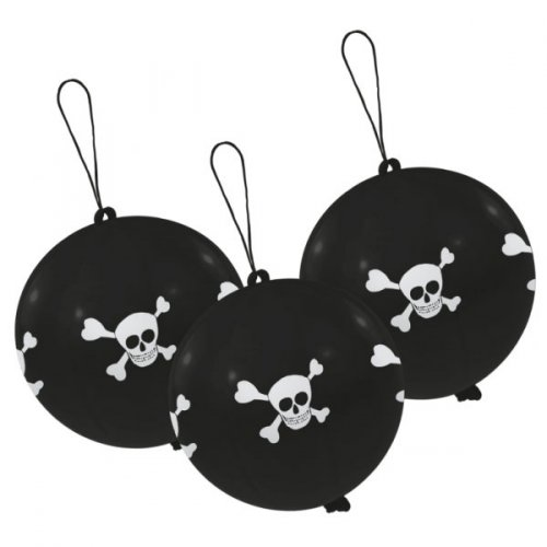 3 Ballons Punchball Pirate