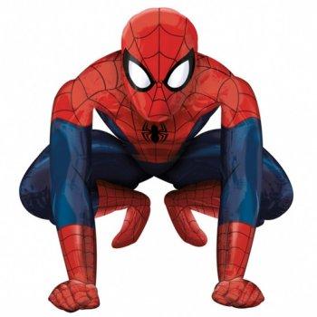 Ballon g ant spiderman airwalkers pour l 39 anniversaire de votre enfant annikids - Faire tenir des ballons en l air sans helium ...