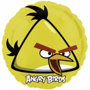 Ballon H�lium Angry Birds Chuck jaune