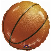 Ballon Gonflé à l'Hélium Basket