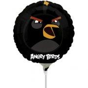 Ballon sur Tige Angry Birds Noir