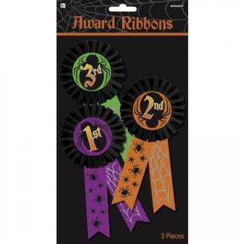 3 Médaillons Trophée Halloween