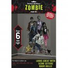 D�cors G�ant Zombie Family