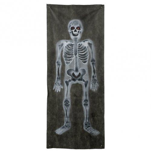 Rideau Squelette Lumineux et Sonore