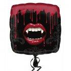 Ballon H�lium Bouche de Vampire