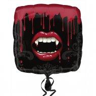 Ballon Hélium Bouche de Vampire