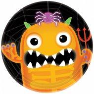 8 Petites Assiettes Halloween Academy