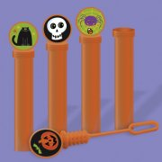 4 Mini-flacons Bulles de savon Halloween Fun