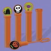 4 Mini-flacons Bulles de savon Halloween Fun