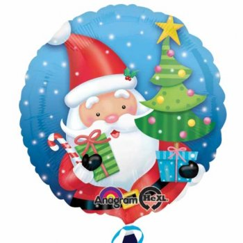 Ballon à l Hélium Père Noël