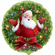 Ballon à l'Hélium Père Noël Joyeux