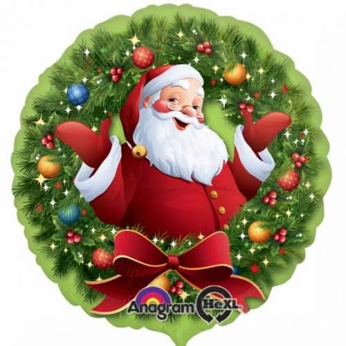 Ballon à l Hélium Père Noël Joyeux