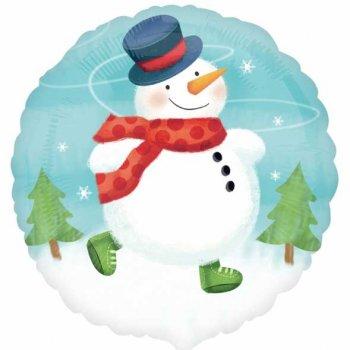 Ballon à l Hélium Gros Bonhomme de neige