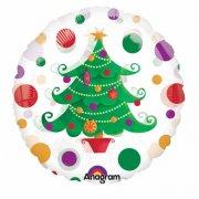 Ballon � l'H�lium Sapin de No�l