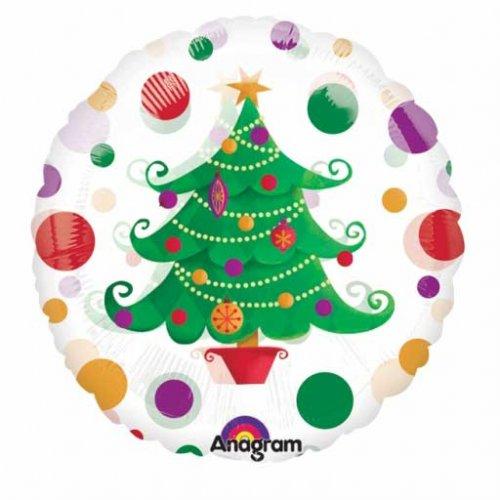 Ballon Gonflé à l Hélium Sapin de Noël