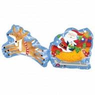 Ballon Géant Père Noël et son traineau