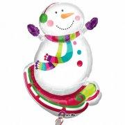 Ballon G�ant Bonhomme de neige