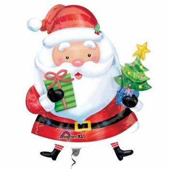 Ballon Géant Père Noël Joyeux
