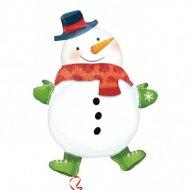 Ballon Géant Bonhomme de neige
