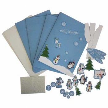 Kit Création 4 cartes de Voeux