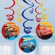 6 Guirlandes Spirales Cars