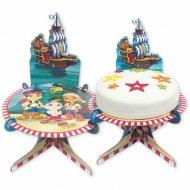 Support à Gâteau Jake le Pirate