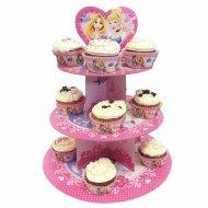 Présentoir à Cupcakes Princesses Glamour