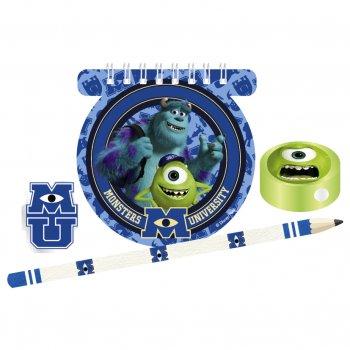 Kit Cadeau Papeterie Monstres Academy