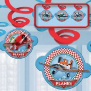 6 Guirlandes Spirales Planes