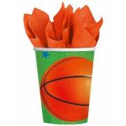 8 Gobelets Basketball Fan