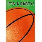 8 Invitations Basketball Fan