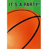 8 Invitations Basketball Fan