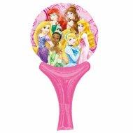 Ballon à main Princesses Glamour