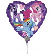 Ballon sur tige My Little Pony Heart