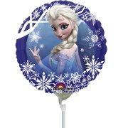 Ballon sur tige La Reine des Neiges