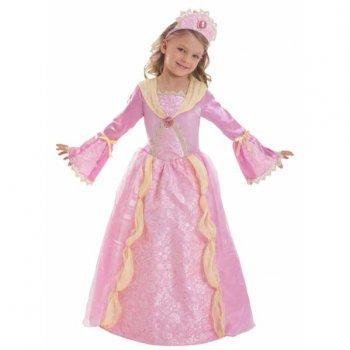 Déguisement Princesse Médiévale Rose Corolle