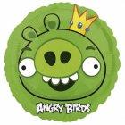 Ballon à l'Hélium Angry Birds Roi cochon vert