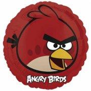 Ballon à l'Hélium Angry Birds Rouge