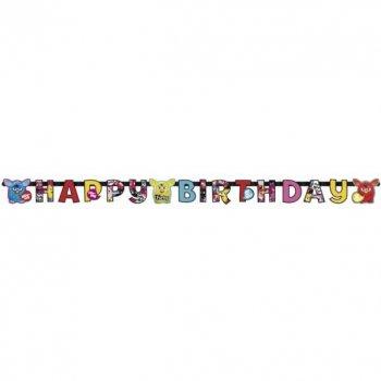 Guirlande lettres  Happy Birthday Furby