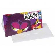 6 Invitations Furby