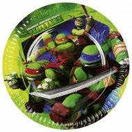 8 Assiettes Tortue Ninja