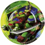 8 Petites assiettes Tortue Ninja