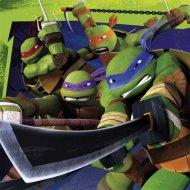 20 Serviettes Tortue Ninja