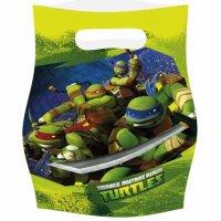 Contient : 1 x 6 Pochettes cadeaux Tortue Ninja